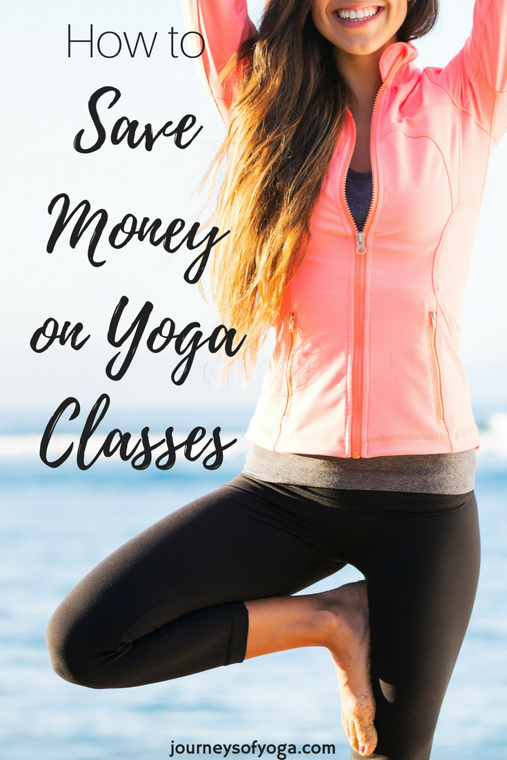 This girl save $8-$20 on every yoga class! Must read!