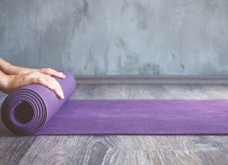 How to Clean Your Yoga Mat. Don't make the same mistake she did!