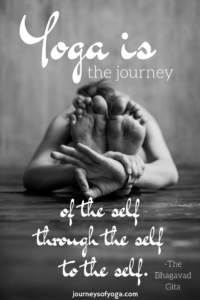 Check out this girl's journey of yoga!