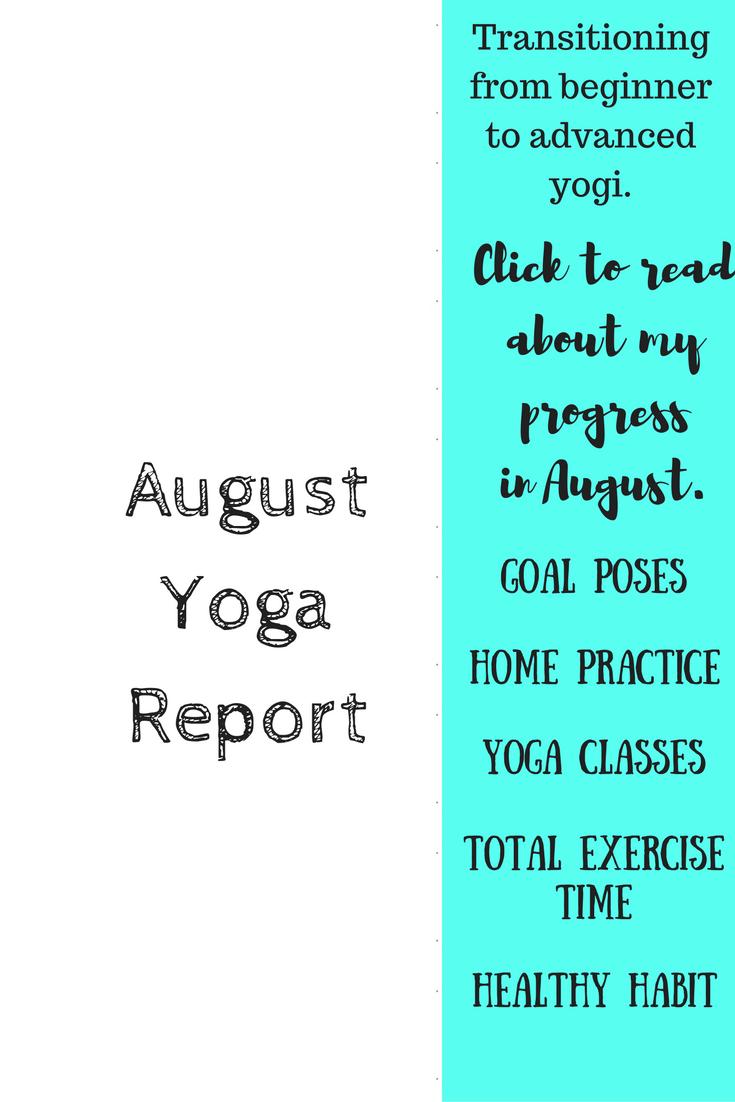 August Yoga Report