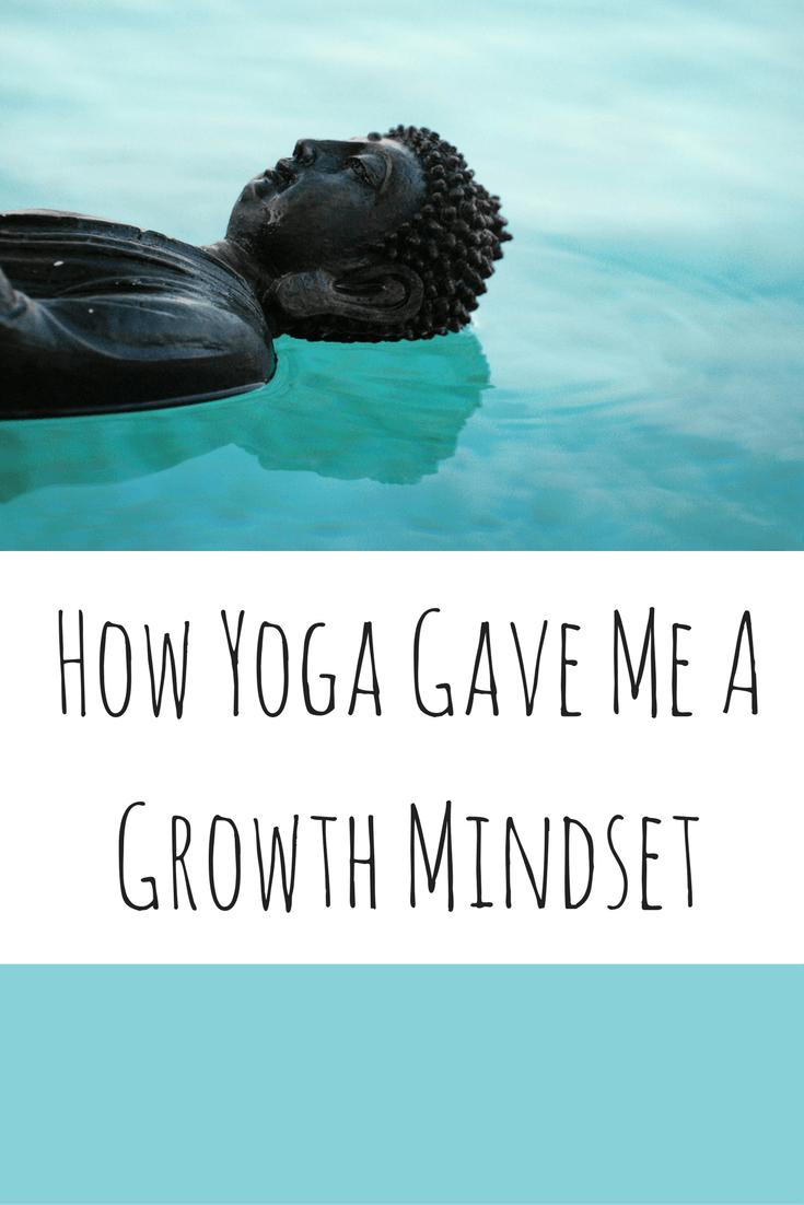 How yoga gave me a yoga mindset