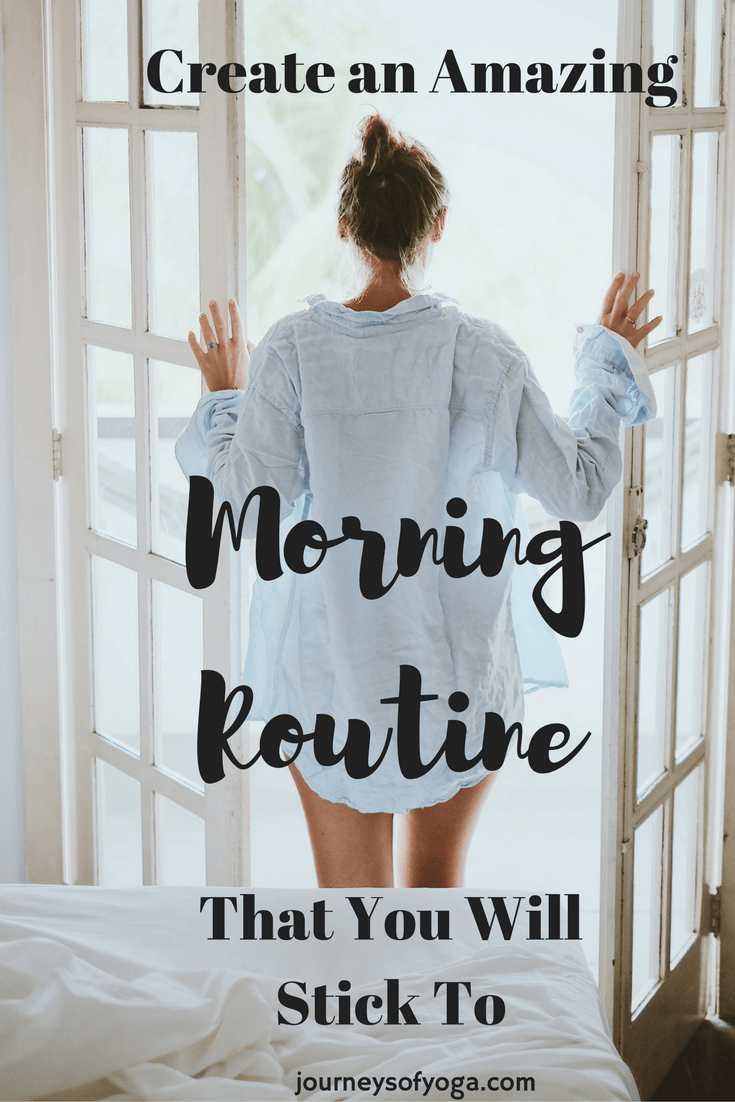 Find out how this non-morning person changed her mornings completely by creating an amazing morning routine. Plus, get tips on how to make your own routine.