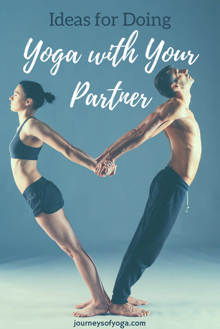 Lots of ideas for doing yoga with your partner!