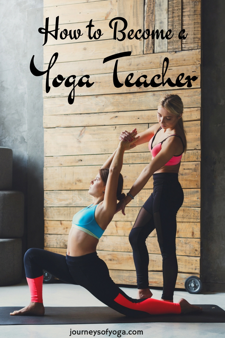 Step by step guide on what to do if you want to become a yoga teacher.